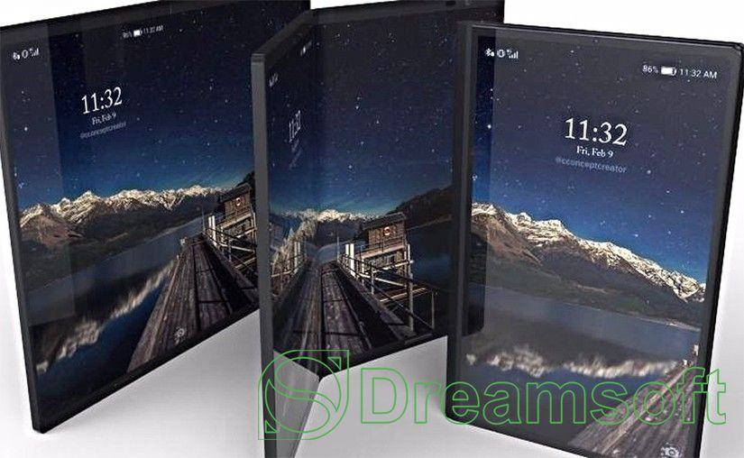 Samsung компани ГУРВАН дэлгэцтэй утас бүтээнэ